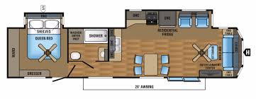 Jayco Camper Trailer Floor Plans Jayco Jay Flight Bungalow Rvs For Sale Camping World Rv Sales