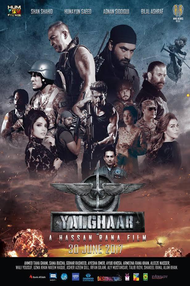 Yalghaar 2017 Pakistani Movie Download Full HD CAM
