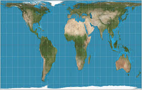 Africa Google Maps by Mercator Projection V Gall Peters Projection Business Insider