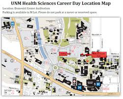 Unm Map Unm Health Sciences Career Day