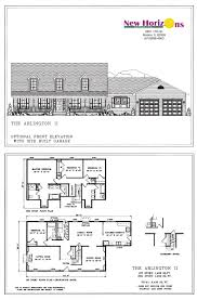 Two Story House Floor Plans Model Homes U0026 Floor Plans Marion Il New Horizons Homes Inc