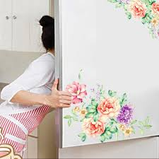 online get cheap wall decals for living room aliexpress com peony flowers wall stickers art home decor pvc removable vinyl wall decals for kids living