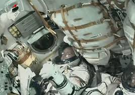 year in space flight for russian american crew starts with