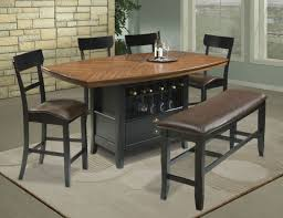 Wood Patio Furniture Sets - furniture ideas counter height patio furniture with wooden round