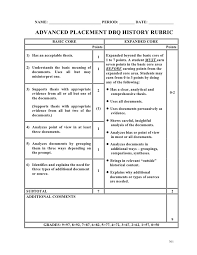 Research Paper Scoring Rubric ReadWriteThink