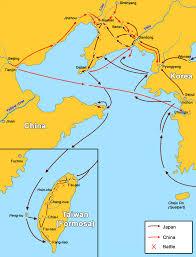 Fuzhou China Map by File First Chinese Japanese War Map Of Battles Jpg Wikimedia Commons