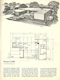 Vintage Home Design Plans Interior Mid Century Modern Home Floor Plans With Delightful