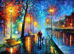 Wallpapers Backgrounds - Autumn Oil Painting Leonid Afremov Wallpaper 1454x1064 33626 (interesting things wallpaper autumn oil painting leonid afremov pic 1454x1064 33626 kulfoto)