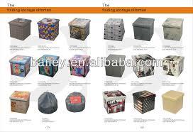printed american flag folding cube storage ottoman buy storage