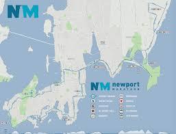 Newport Oregon Map by The Newport Marathon And Half Marathon Newport Rhode Island