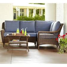 Painting Wicker Patio Furniture - martha stewart living patio conversation sets outdoor lounge