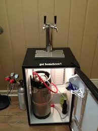 Beer Kegerator He Turned A Cheap Freezer Into An Industrial Kegerator For Their
