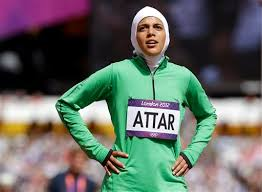Sarah Attar first Saudi Arabia woman Olympics London 2012 800m athletics