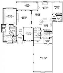 House Plans 5 Bedrooms 28 One Story 5 Bedroom Home Plans Floor Plans Single Story