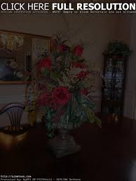 silk flower arrangements for dining room table dining room ideas