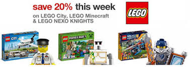 black friday target legos target 20 off lego city lego minecraft and lego nexo knights sets