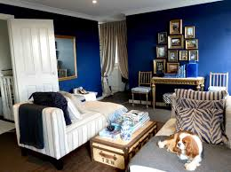 Navy Blue Wall Bedroom Blue White And Gold Room Descargas Mundiales Com