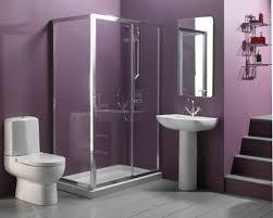 bathroom light colored bathroom paint color idea with purple wall