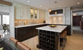 Wine Rack Kitchen Island by Kitchen Beautiful Light Oak Floor Kitchen With Light Brown Oak