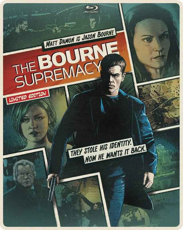 The Bourne Supremacy Limited Edition Steelbook (Blu-ray & DVD)