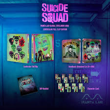mg 6 squad steelbook extended cut 2d uhd one click