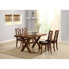 better homes and gardens maddox crossing dining table brown