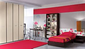 Red Bedroom by Cool Spacious Bedroom Ideas For Teenage Girls With Red Colors