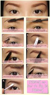 how to do perfect eyebrows with pencil u2013 world novelties makeup 2017