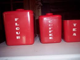 red kitchen canister set u2014 all home ideas and decor popular