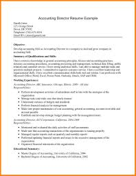 Sample Staff Accountant Resume by 7 Accounting Resume Objective Samples Cashier Resumes