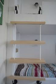 DIY Rope Ladder For Bunk Bed  Our House Now A Home - Ladder for bunk bed