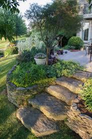 walkway ideas for backyard best 25 sloped backyard ideas on pinterest sloping backyard