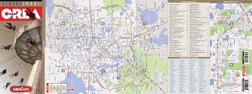 Map Of Downtown Disney Orlando by Orlando Map By Vandam Orlando Streetsmart Map City Street Maps