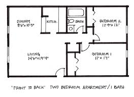 Two Bedroom Apartment Floor Plans Hickory Hills Apartments U0026 Townhomes Floor Plans