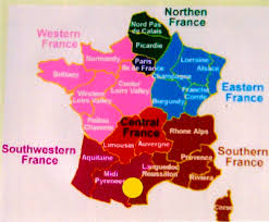 France Map Regions by Cathar Region Png