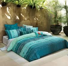 linen house zenati turquoise cushion my peacock blue bedroom