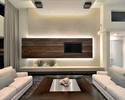 Sparkly Back Wall Looks So You  Modern Family Room Design - Contemporary family room design