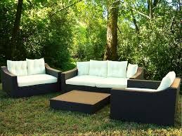 Wood Patio Furniture Sets - outdoor u0026 garden toledo 7 pc modern patio furniture set with