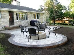 fresh concrete patio ideas 15 with additional home interior design