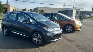 nissan leaf vs chevy bolt chevrolet bolt vs volkswagen gti we take a spin at gm u0027s