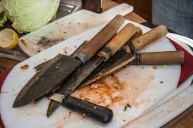 korean carbon steel knives korean feast