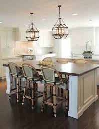 Nautical Lighting Pendants Kitchen Fascinating Barstools Design On Wooden Floor Closed