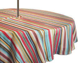 Tablecloth For Umbrella Patio Table by Amazon Com Dii 100 Polyester Spill Proof And Waterproof