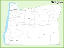 Oregon Map by Oregon County Map