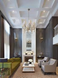 gorgeous dark walls and high ceilings with minimal but traditional