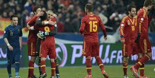 pertandingan Kualifikasi Piala Dunia 2014 Prancis vs Spanyol