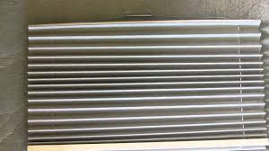 how to re string a pleated rv day night window shade youtube