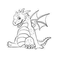 cute dragon coloring pages kids coloring free kids coloring