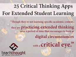 Using Technology to Foster Students      Critical Thinking Skills BYOT Network