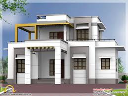 House Plans Designers Flat Roof House Designs Kerala Model Top Home Interior Designers